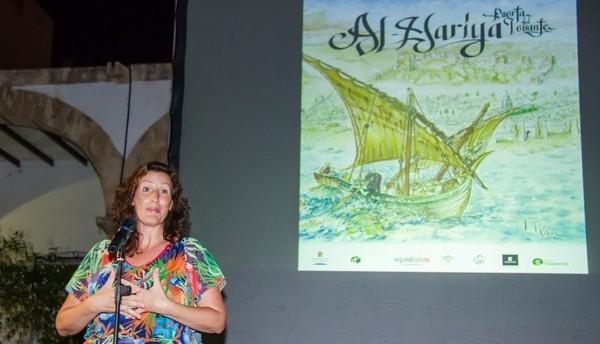 Momento de la presentación del documental Al-mariya, Puerta del Levante
