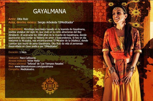 Estreno de la obra 'Gayalmana, la Odalisca de Almería'
